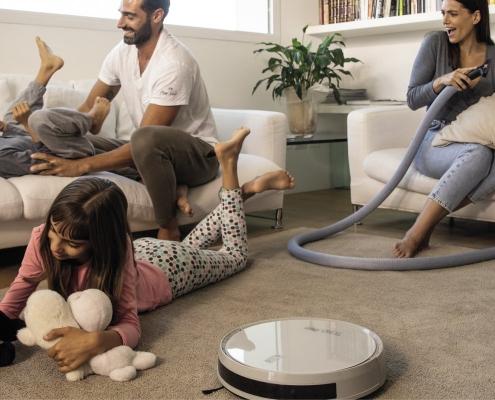 Robotski sesalnik Robo Aertecnica